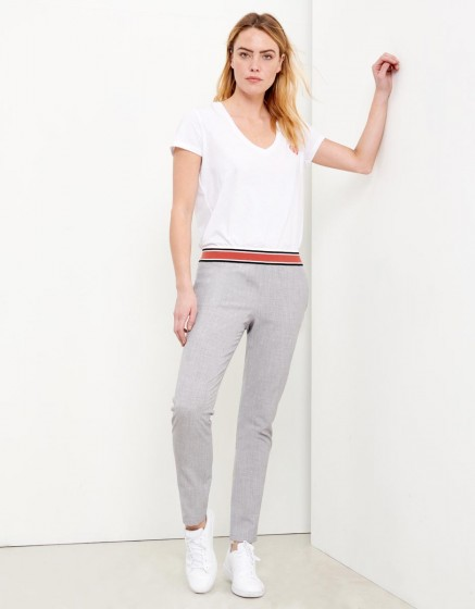 Street Trousers Ernest Fancy - GRIS CHINE