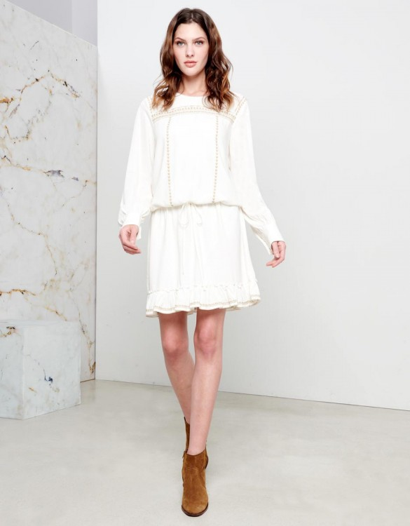 Dress Doris - WHITE