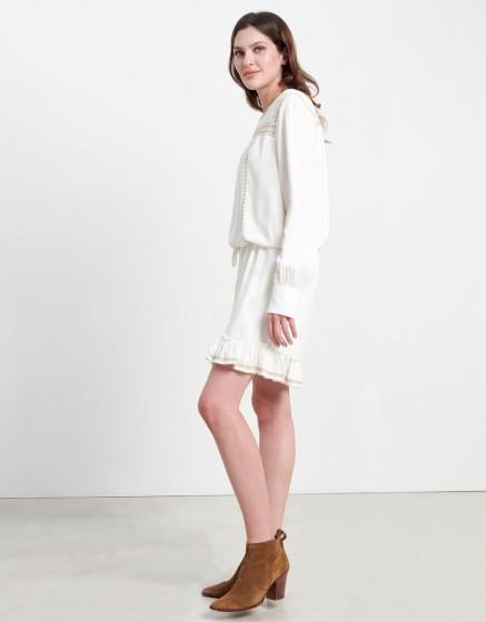 Dress Doris - WHITE