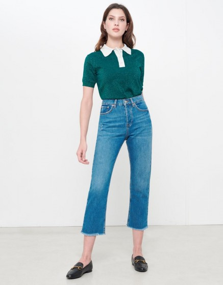 Jean Highwaist cropped Milo - DNM V-201