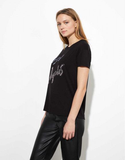 Tee-shirt Tulum - BLACK