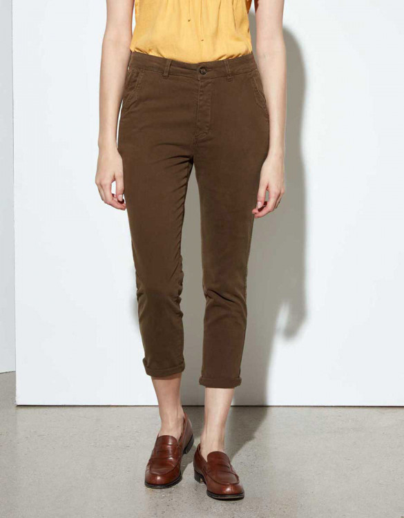 Chino Trousers Sandy Tapered - VINTAGE KAKI