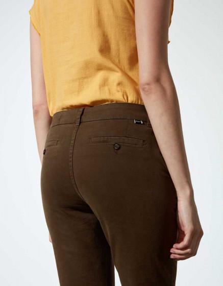 Chino Trousers Sandy Tapered - VINTAGE KAKI