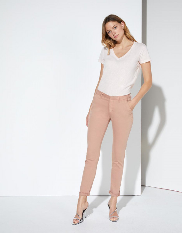 Chino trousers Sandy - PINKSAND