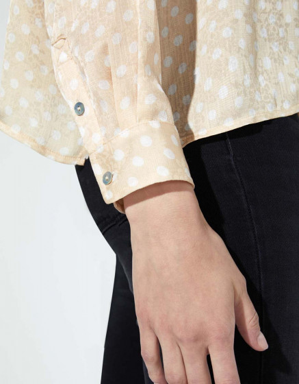 Shirt Bea - CREAM DOTS