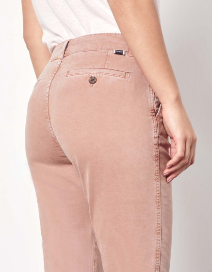 Pantalon chino Sandy Tapered - PINKSAND
