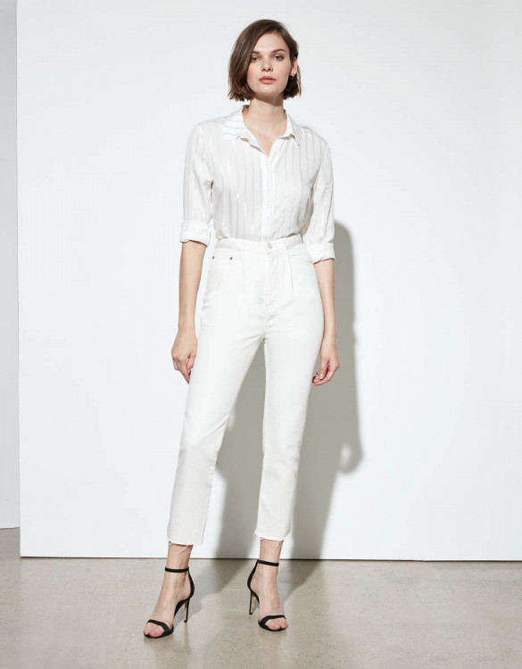 Highwaist jean Adana - DNM OFF WHITE