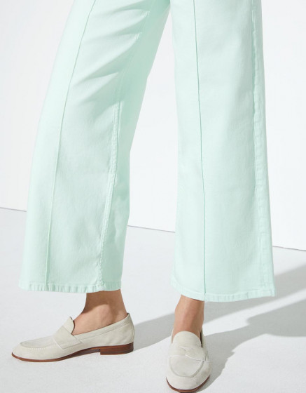 Wide jean Poppy Color - NEO MINT