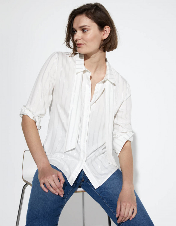 Shirt Carla - WHITE SPARKLING