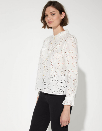 Shirt Capucine - WHITE
