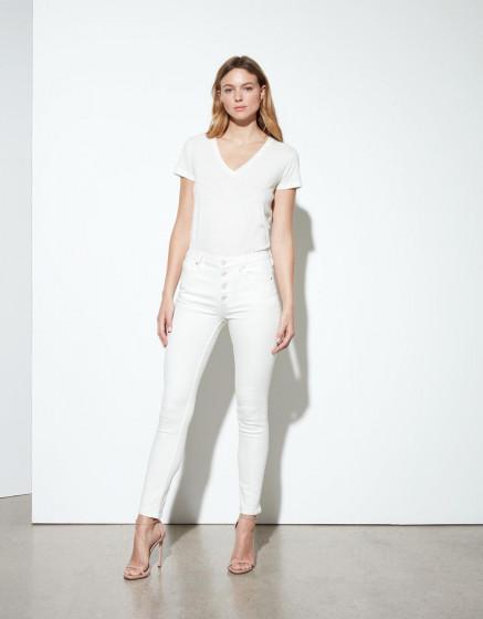 Jean high waist Arnel Retro - DNM OFF WHITE