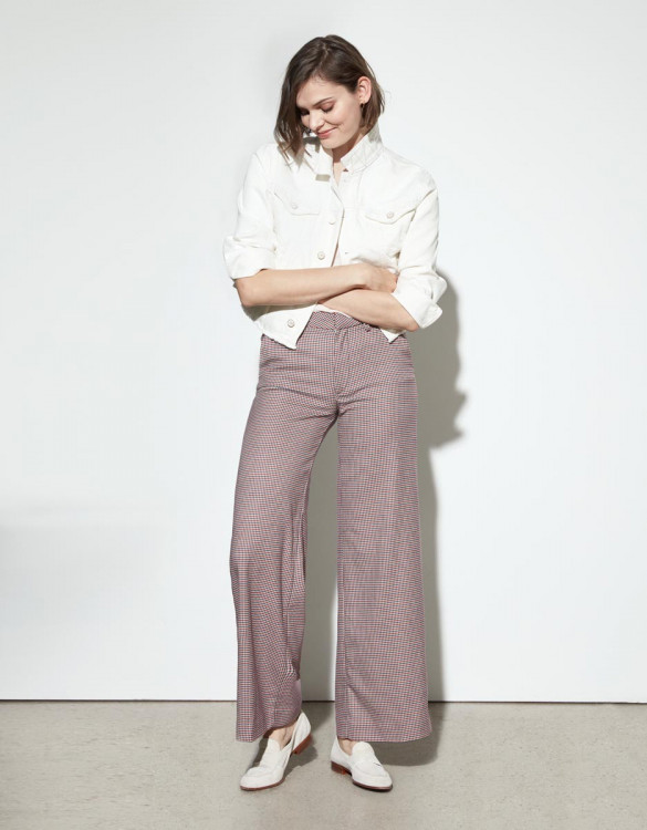 Wide trousers Pamelo Fancy - FRENCHY