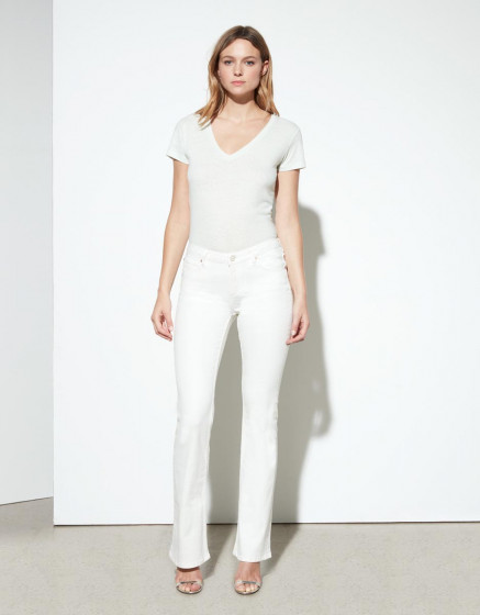 Jean flare Phoebe - DNM WHITE