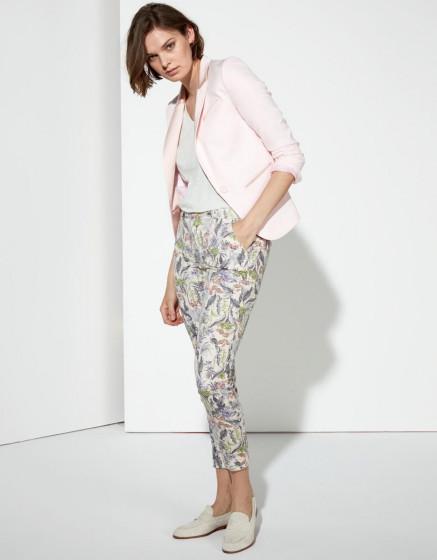 Pantalon chino Sandy Cropped Printed - TROPICAL SKIN