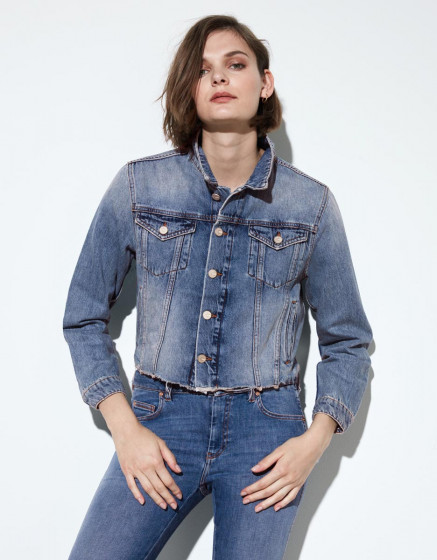 Jacket Jamelia  - DNM BLUE