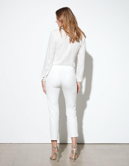 Pantalon cigarette  Leandro - WHITE