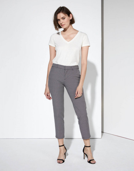 Cigarette trousers Liv Fancy - RED DIAMOND