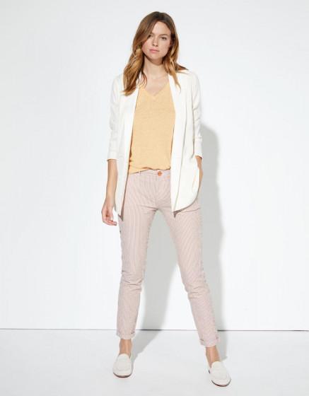 Pantalon chino Sandy Fancy - ORANGE STRIPES