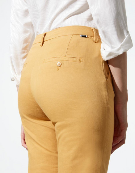 Chino trousers Sandy Highwaist Cropped - MANGUE