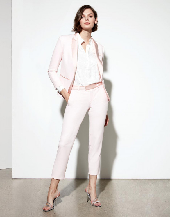 Cigarette trousers Leandro - BABY PINK
