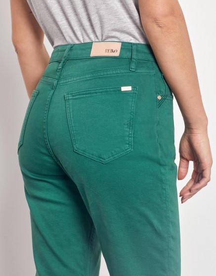 High waist cropped jeans Milo Color - GARDEN