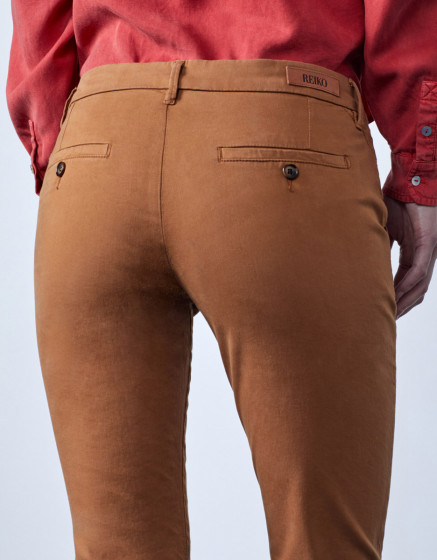 Chino trousers Sandy 2 Basic - NOUGAT