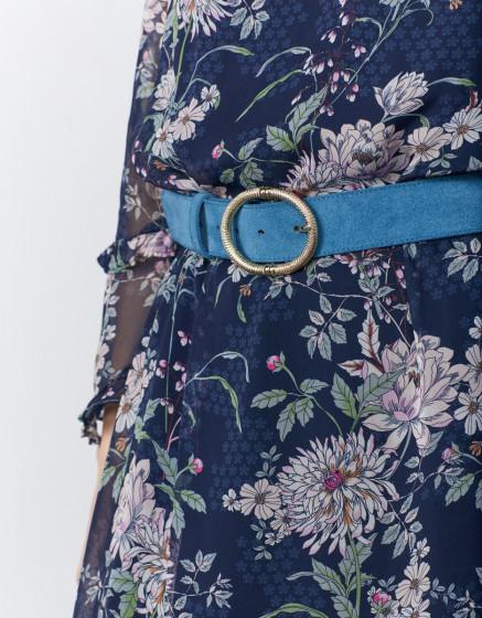 Belt Alisson - BLUE STEEL