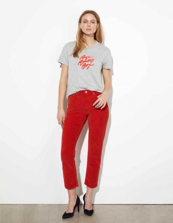 Tee-shirt Dabia - GRIS CHINE