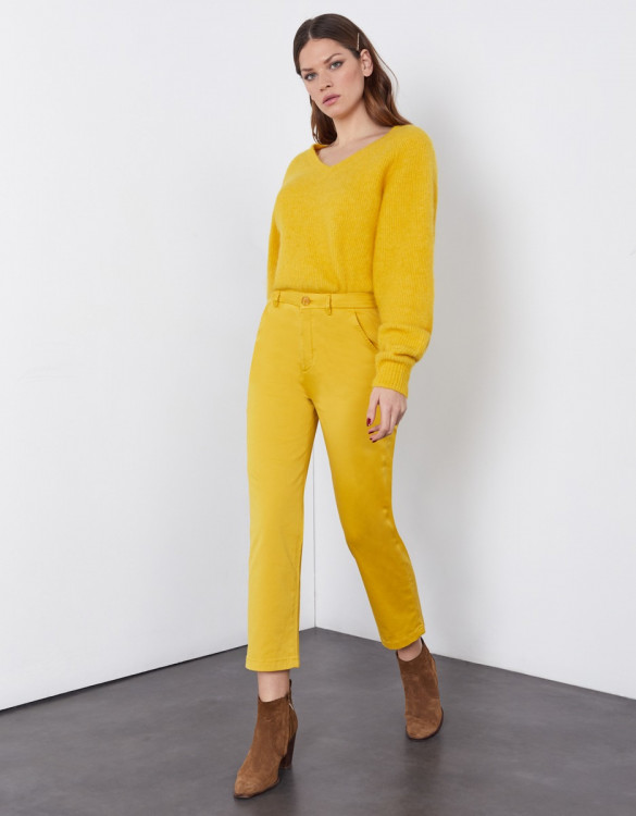 Chino Sandy High Waist - LIMONCELLO