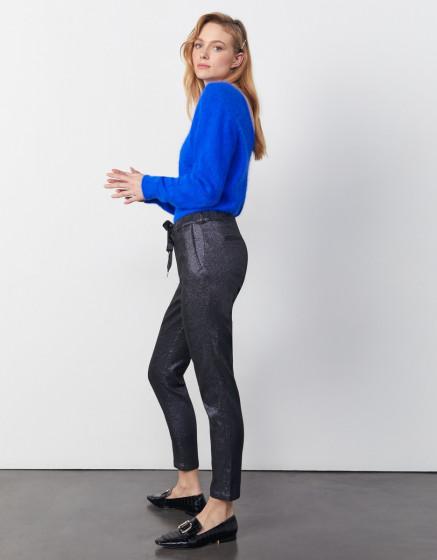 Pantalon carotte Faustine - BLUE SPARKLE