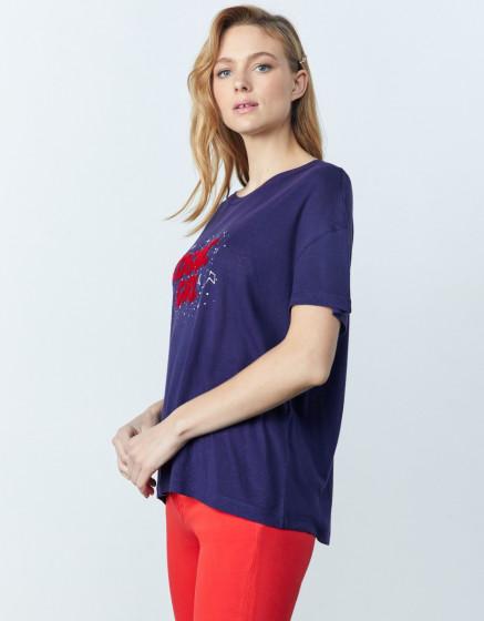 T-shirt Elora - ASTRAL BLUE