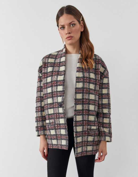 Manteau Vita - WOOLEN CHECKS