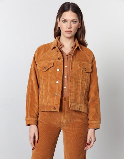 Jacket Jeddah Velvet - SAND STORM