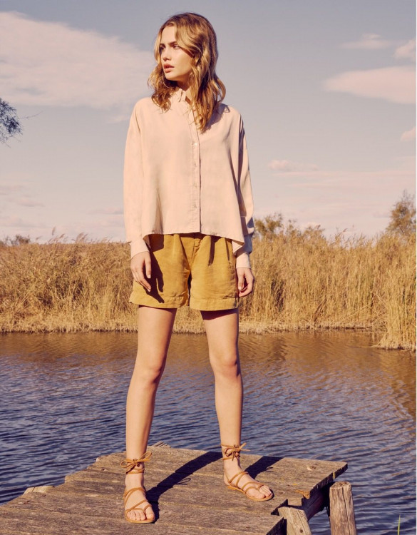 Shirt Bea Color - LIGHT SAND