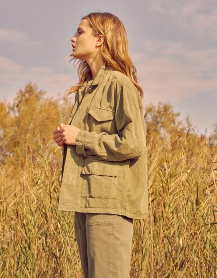 Jacket Vanina - OLIVE