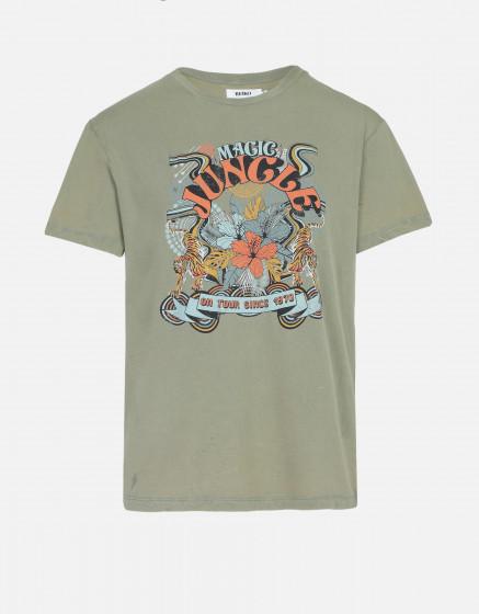 T-shirt Twiggy - OLIVE