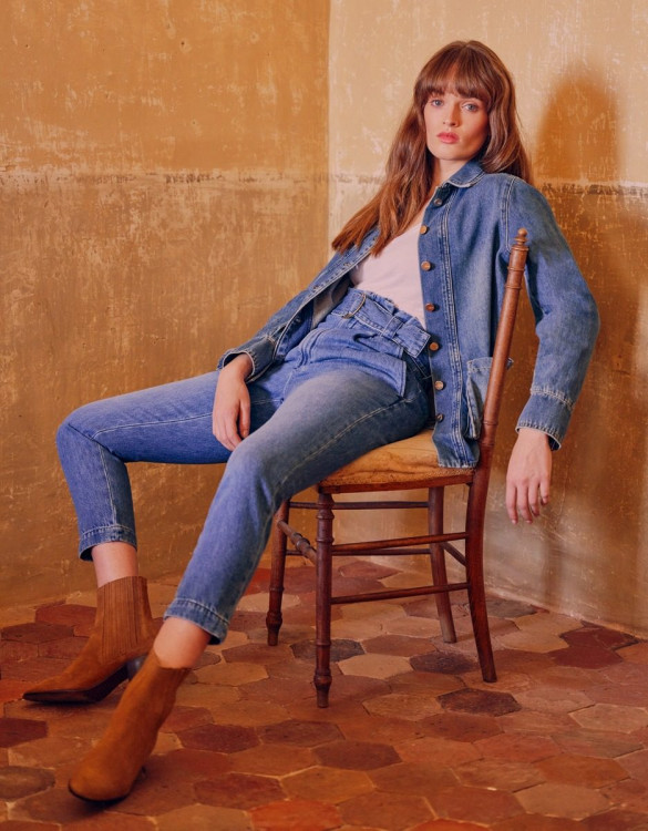 Cigarette high waist jeans Ava - DNM B-235