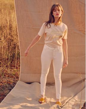 High waist jean Arnel - DNM OFF WHITE