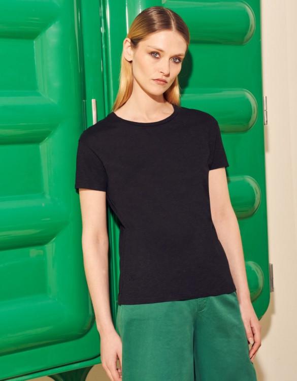 T-shirt Elvie - BLACK