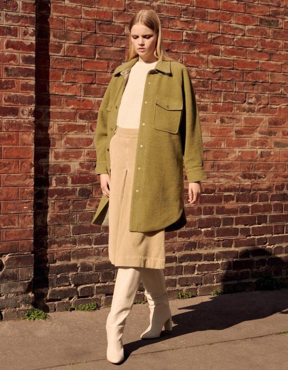 Coat Mana - MILITARY OLIVE