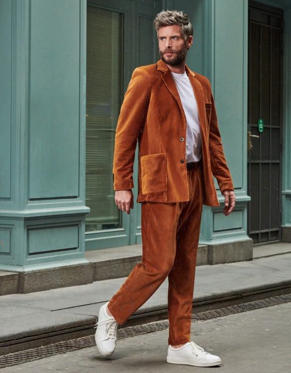 Jacket Marius - COGNAC