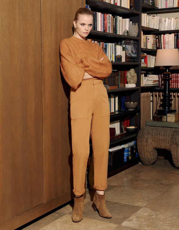 Cargo trousers Aimy - SANDSTONE