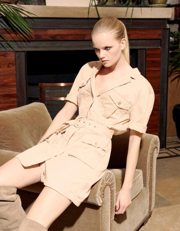 Vestido Debbie Color - LIGHT SAND