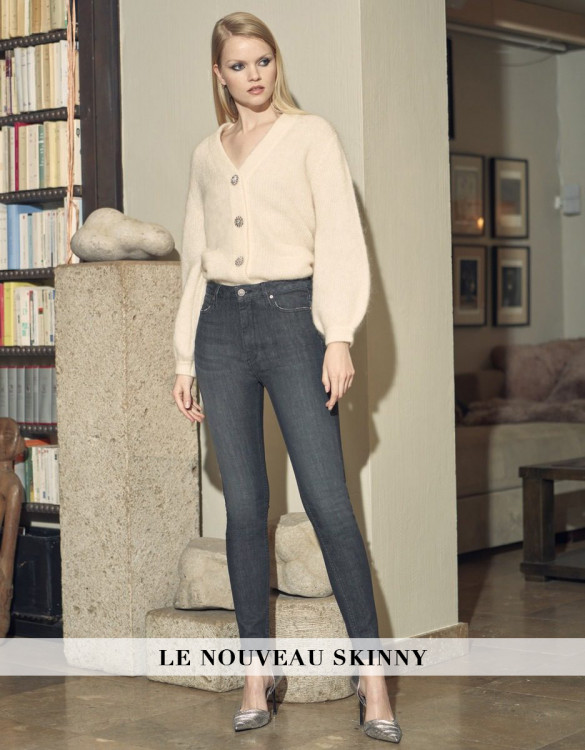 Jean skinny high waist Nate - DNM BL-534