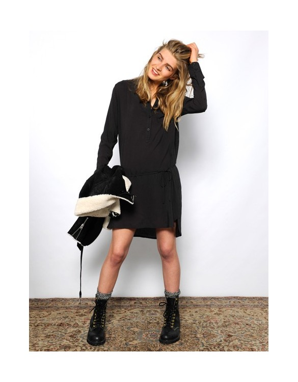 Shirt dress Taylor - carbone