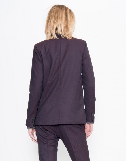Veste blazer Blair Fancy - SQUARE CARMIN