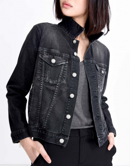 Veste en jean Vega - BLACK DENIM