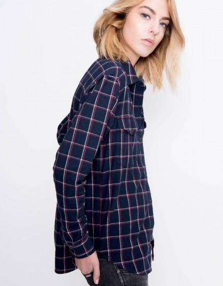 Chemise à carreaux Cody - NAVY