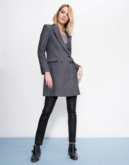 Manteau Meryl - Couleur unique