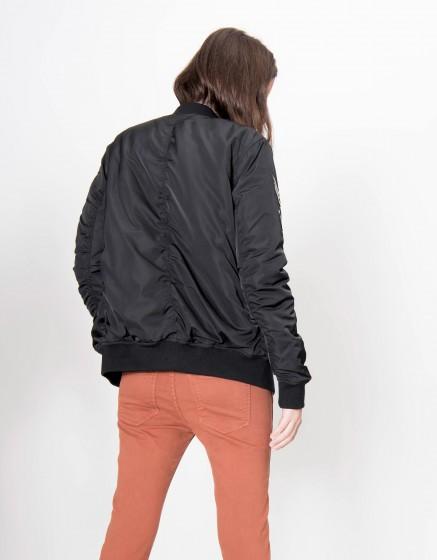 Bombers jacket Brandy - BLACK
